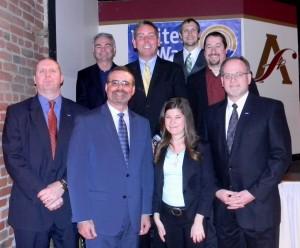 Campaign Cabinet with Bill, Ali, Patrick