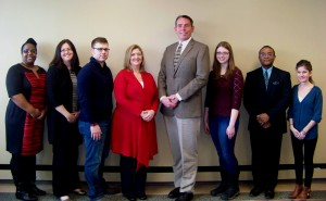 Representatives recently met with SUNY Oswego employees to express their appreciation for the support the agency received through SUNY?s SEFA Campaign