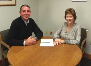 Patrick and Wendy of Fulton Savings Bank